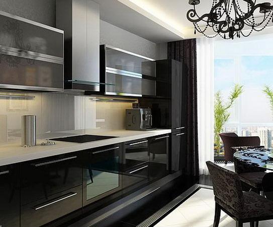 Дизайн для небольшой кухни  2018 современные идеи 29